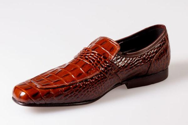 Fella 8 Brown Croc